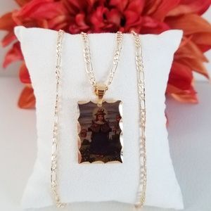 Holy Child of Atocha Picture Necklace